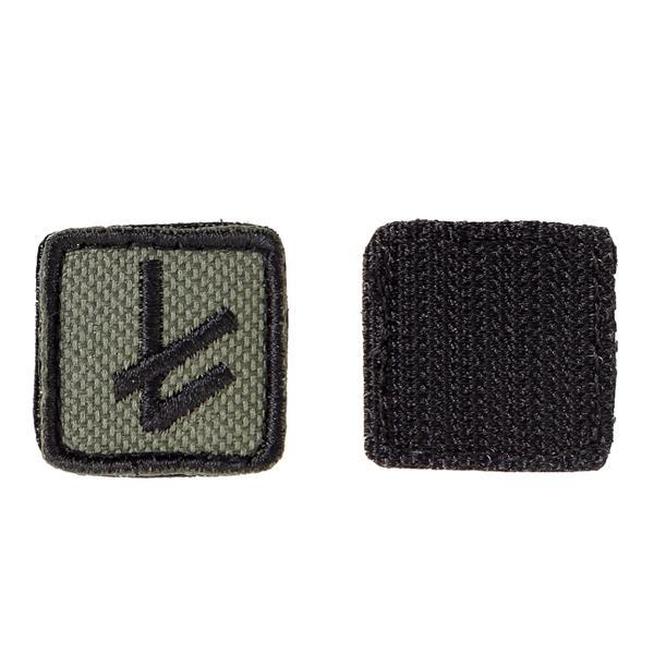 Шеврон KE Tactical Славянская руна Берегиня квадрат 2,5 см олива/черный - фото 10101