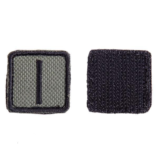 Шеврон KE Tactical Славянская руна Исток квадрат 2,5 см олива/черный - фото 10109
