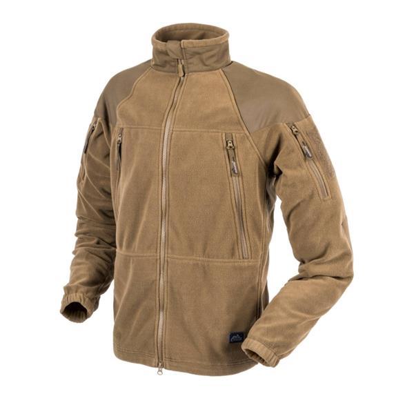 Куртка флисовая Helikon STRATUS Heavy Fleece, Coyote - фото 10617