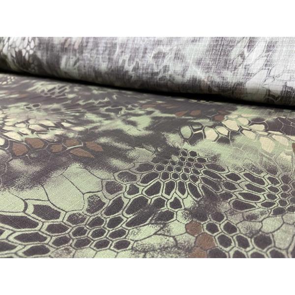 Ткань Fabrics рип-стоп 50% пэ 50% хлопок 240 г/м кв mandrake - фото 11114