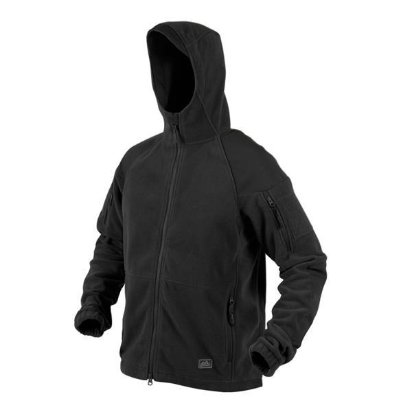 Куртка флисовая Helikon CUMULUS, Black - фото 11315