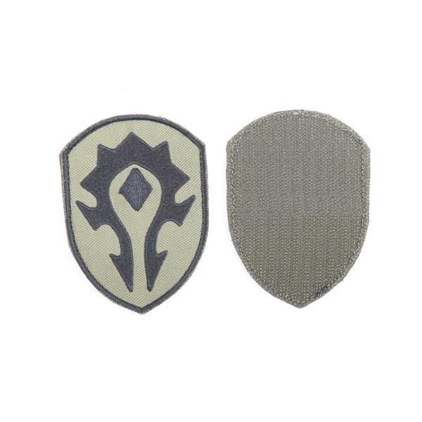 Шеврон KE Tactical Орда 6,5х9 см олива/черный - фото 12734