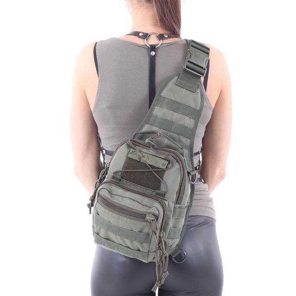 Сумка на плечо KE Tactical 1-Day Mission 5 литров Polyamide 1000 Den олива - фото 12869