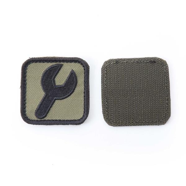 Шеврон KE Tactical Ключ квадрат 5 см олива - фото 12889