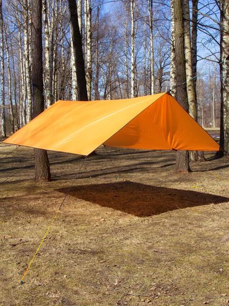 Тент КМФ78  285х330 оранжевый - фото 13280