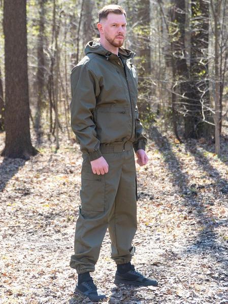 Костюм KE Tactical Тактика-2 рип-стоп олива - фото 13373
