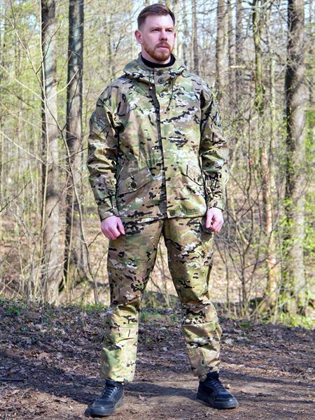 Костюм KE Tactical Горка-3 рип-стоп multicam - фото 13530