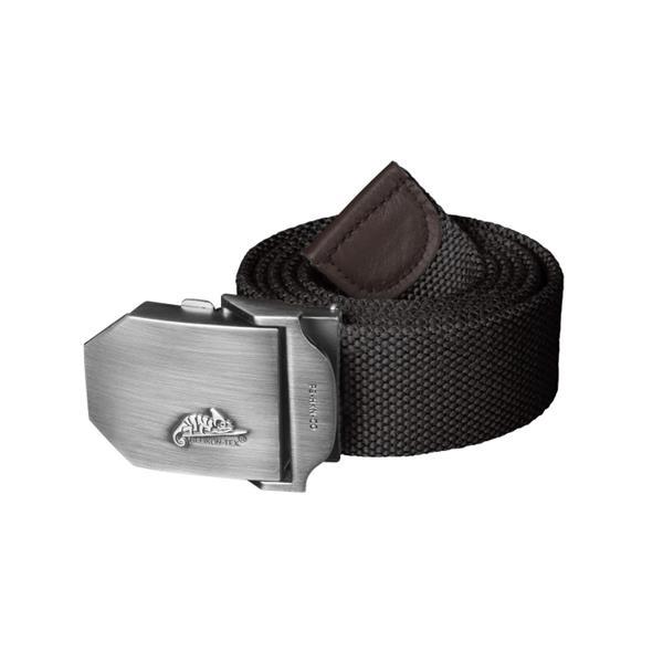 Ремень брючный Helikon Logo Belt Polyester, Black - фото 13553