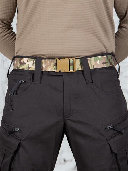 Ремень KE Tactical брючный из стропы 40 мм multicam - фото 13877