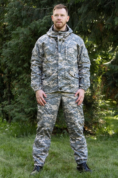 Костюм KE Tactical Горка рип-стоп на флисе AT-digital - фото 14098