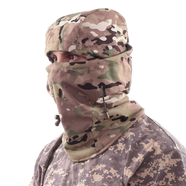 Балаклава-маска Keotica мембрана на флисе multicam - фото 4974