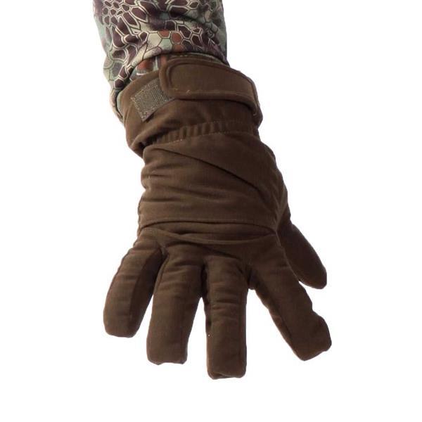 Перчатки Keotica Active мембрана на флисе олива темная - фото 5588