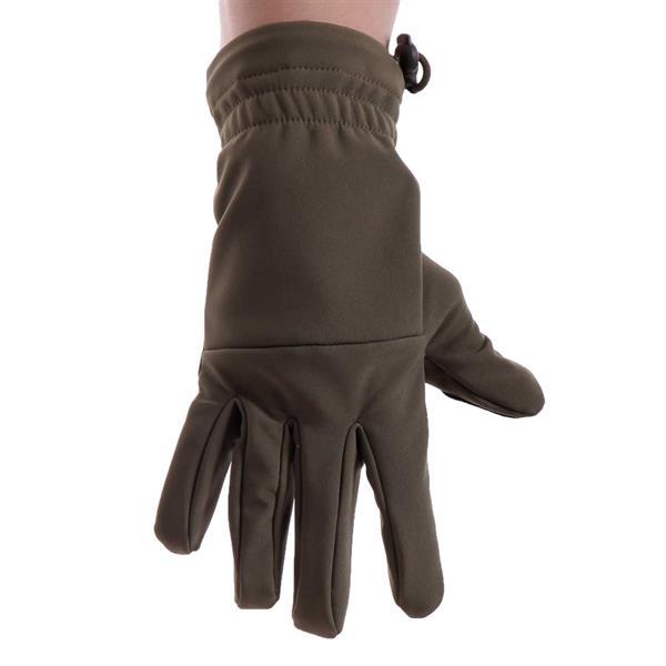 Перчатки Keotica Softshell олива - фото 5625