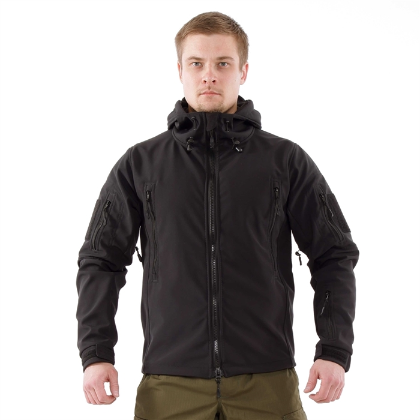 Куртка Keotica Патриот Softshell черная - фото 5926