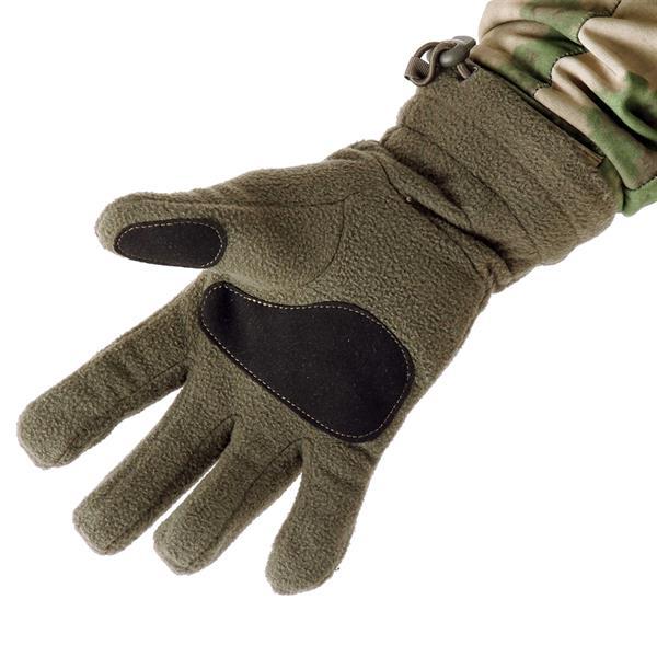 Перчатки Keotica флисовые олива - фото 6110