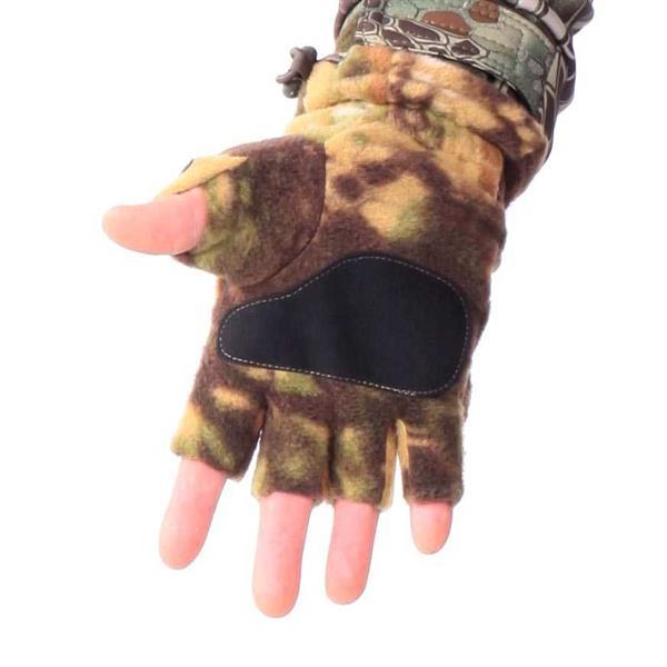 Перчатки-варежки Keotica флисовые mandrake - фото 6156