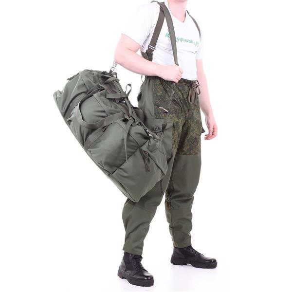 Баул-рюкзак KE Tactical Grand Tour 100л Polyamide 900 Den олива - фото 7361