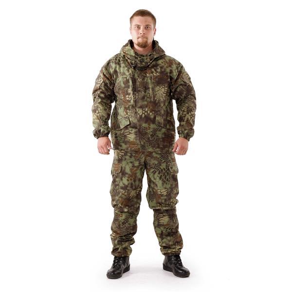 Костюм KE Tactical Горка рип-стоп на флисе mandrake - фото 7838