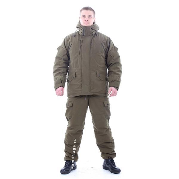 Костюм KE Tactical Горка-Зима Active мембрана олива - фото 8571