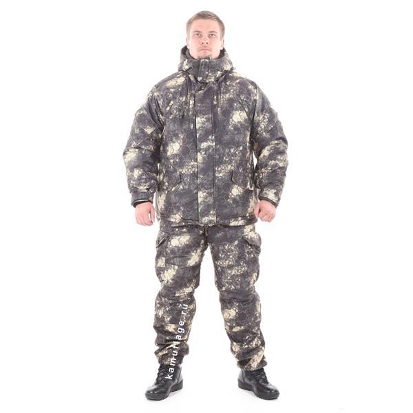Костюм KE Tactical Горка-Зима мембрана MG-Blur - фото 8636