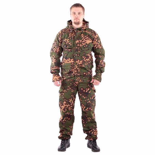 Костюм KE Tactical Снайпер-1 с налокотниками и наколенниками партизан - фото 8882