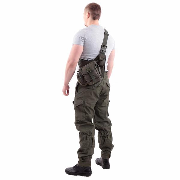 Сумка на плечо KE Tactical Sturm 4.5 литра Polyamide 1000 Den олива темная - фото 9843