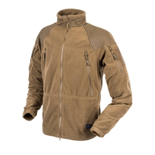 Куртка флисовая Helikon STRATUS Heavy Fleece, Coyote
