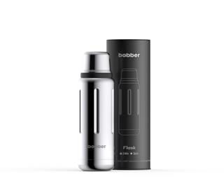 """Термос для напитков Flask-470 Glossy, вакуумный, бытовой, тм """"bobber"""". Объем 0.47 литра"""