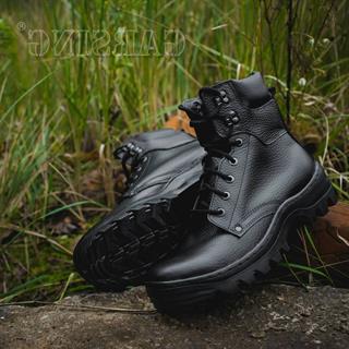 Ботинки Гарсинг м. 429 Pilot Ultra нат. мех черные