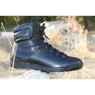 Ботинки Калибр Шторм м. 016 нат. мех черные
