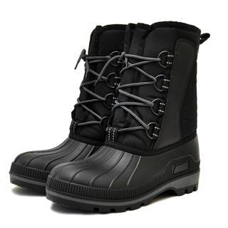 Сноубутсы Nordman Kraft на шнурках м. ОХ14СК3 черные