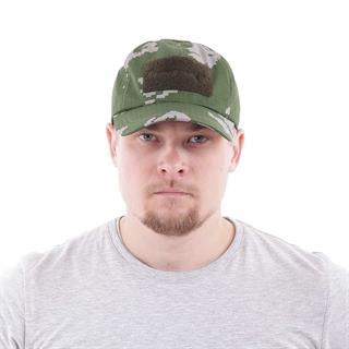 Бейсболка Keotica рип-стоп березка белая