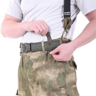 Ремень KE Tactical с застежкой на фастекс Apri 50 мм олива версия 2016 года