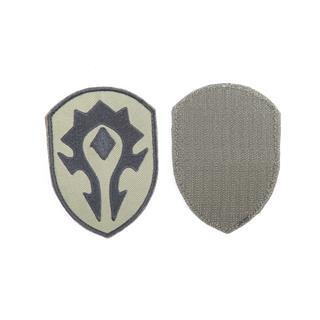 Шеврон KE Tactical Орда 6,5х9 см олива/черный