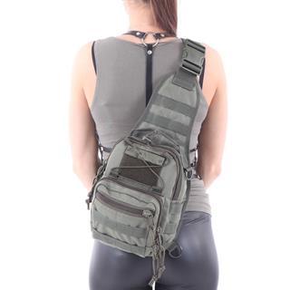 Сумка на плечо KE Tactical 1-Day Mission 5 литров Polyamide 1000 Den олива