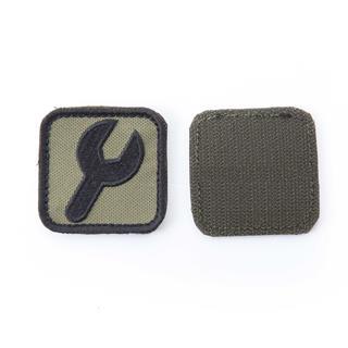 Шеврон KE Tactical Ключ квадрат 5 см олива