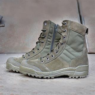 Ботинки Гарсинг G.R.O.M. на молнии м. 0139 О олива