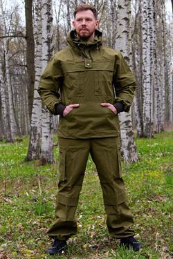 Костюм KE Tactical Антигнус палаточное полотно хаки (100% хлопок)