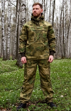 Костюм KE Tactical Антигнус рип-стоп мох