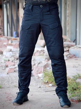 Брюки Keotica TAC-U тактические городские 100% хлопок черные