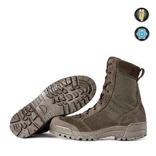 Ботинки Гарсинг G.R.O.M. Fleece м. 0140 О на молнии флис 280 гр олива