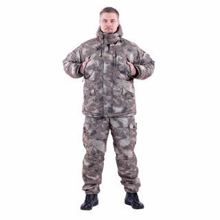 Костюм KE Tactical Горка-Зима мембрана мох коричневый
