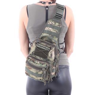 Сумка на плечо KE Tactical 1-Day Mission 5 литров Polyamide 1000 Den mandrake со стропами mandrake