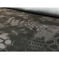 Ткань Fabrics Алова мембрана 100% ПЭ питон черный - фото 11105