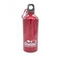 Бутылка Следопыт питьевая 600 мл с карабином красная - фото 11129
