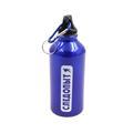 Бутылка Следопыт питьевая 600 мл с карабином синяя - фото 11144