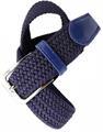 Ремень Keotica эластичный 3.5 см темно-синий - фото 11184