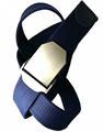 Ремень Keotica тканевый 3.7 см темно-синий - фото 11187