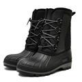 Сноубутсы Nordman Kraft на шнурках м. ОХ14СК3 черные - фото 11444