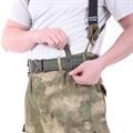 Ремень KE Tactical с застежкой на фастекс Apri 50 мм олива - фото 12159